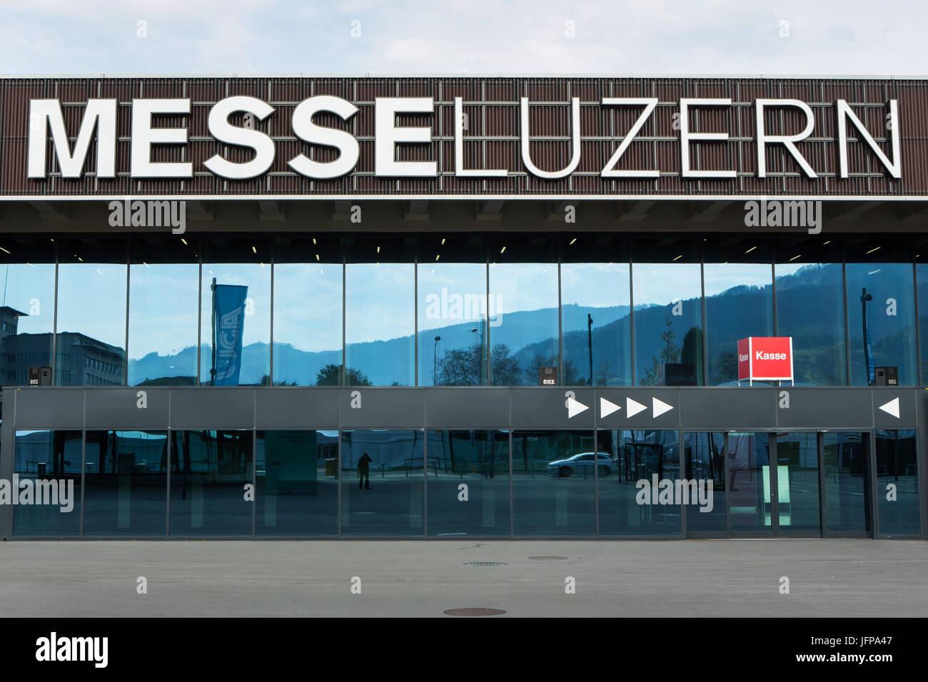 Mess Lucerne, Switzerland, Europe Stock Photo