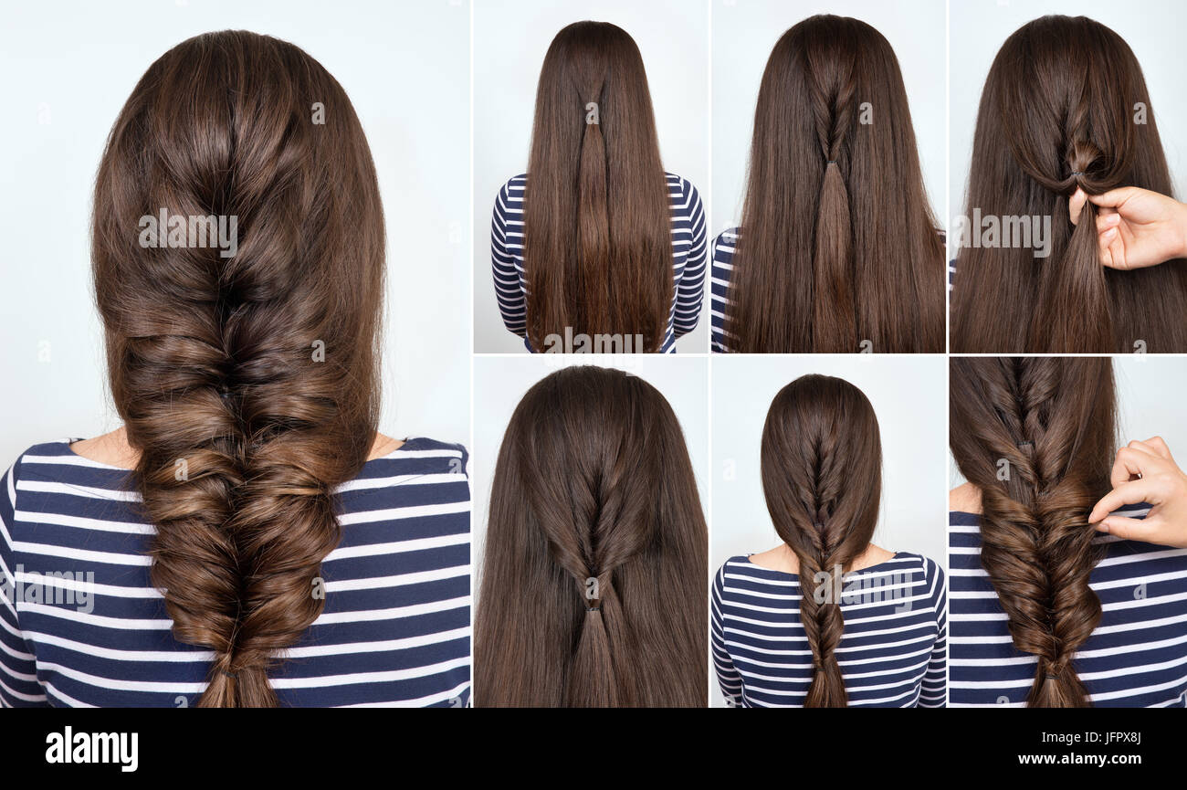 Hair Tutorial Hairstyle Braid For Party Backstage