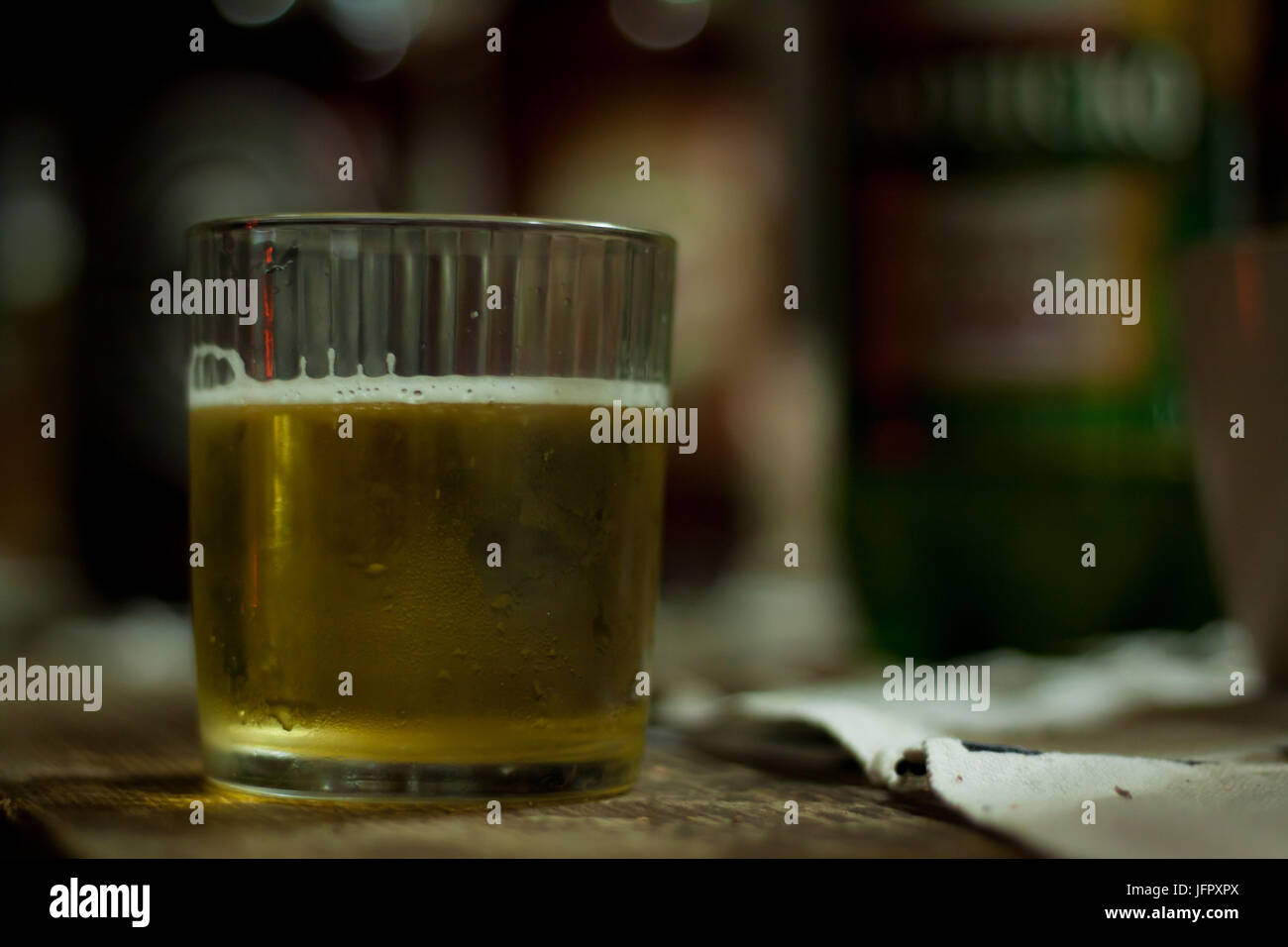 Traditional Macedonian drink - Stock Image