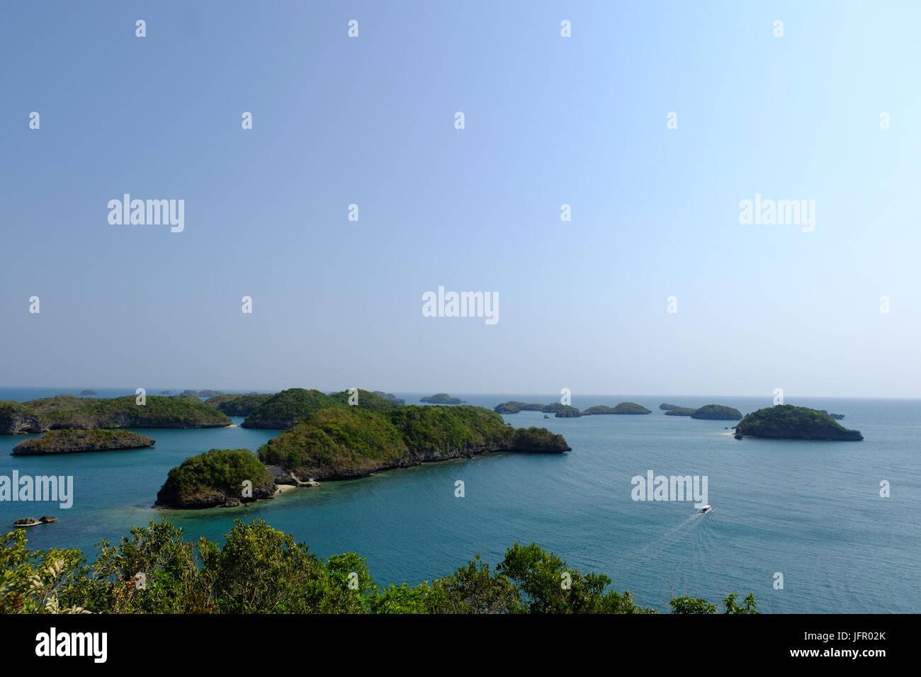 Hundred island in Pangasinan - Stock Image