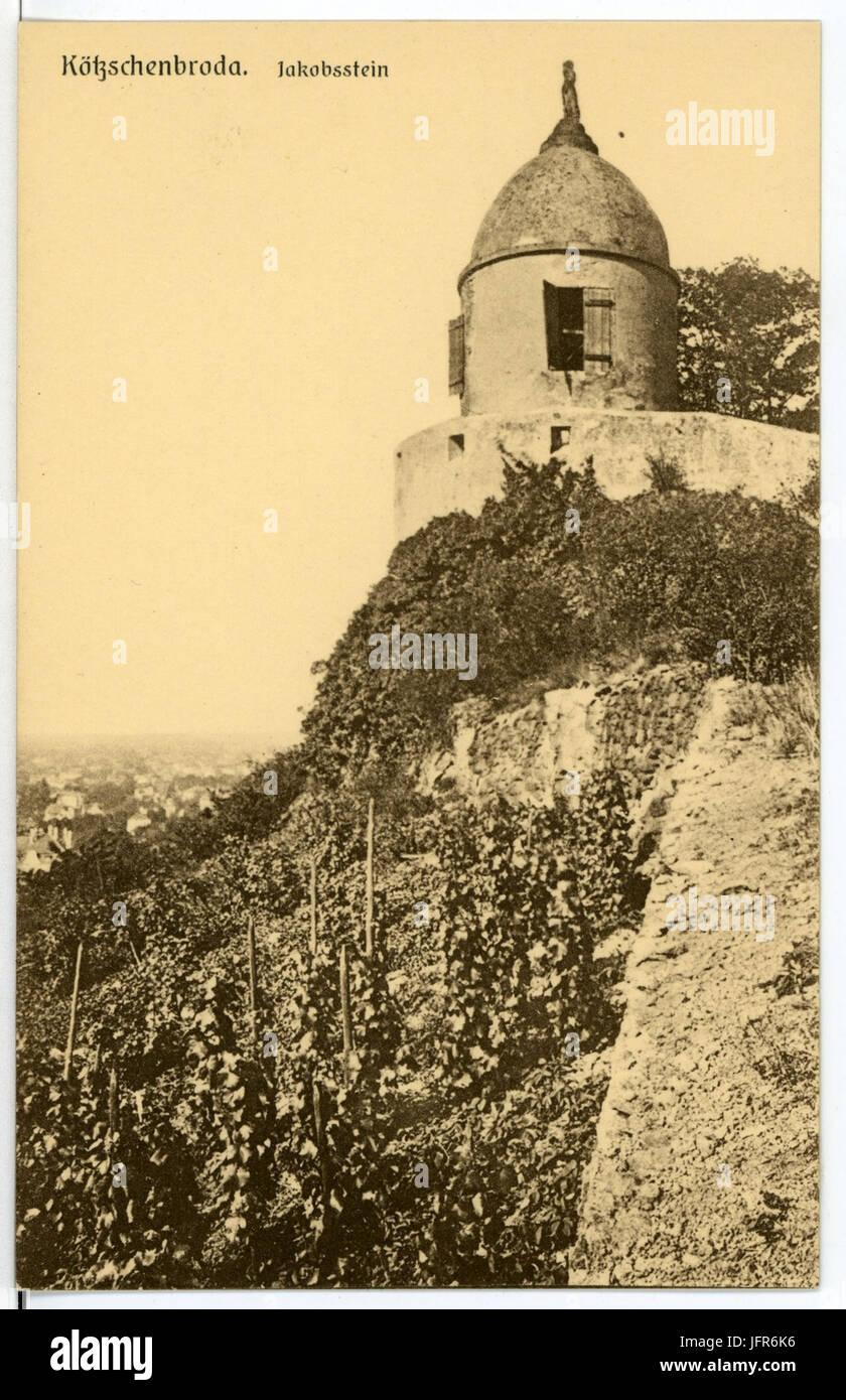 15502-Radebeul-1913-Kötzschenbroda - Jakobstein-Brück & Sohn Kunstverlag Stock Photo