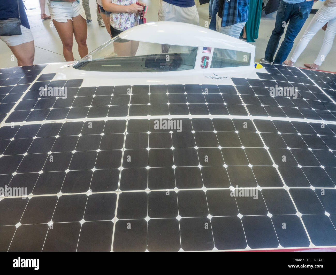 Cockpit Smart Car Stock Photos Images Solar Panel Stanford Ca Usa July 1 2017 The Project