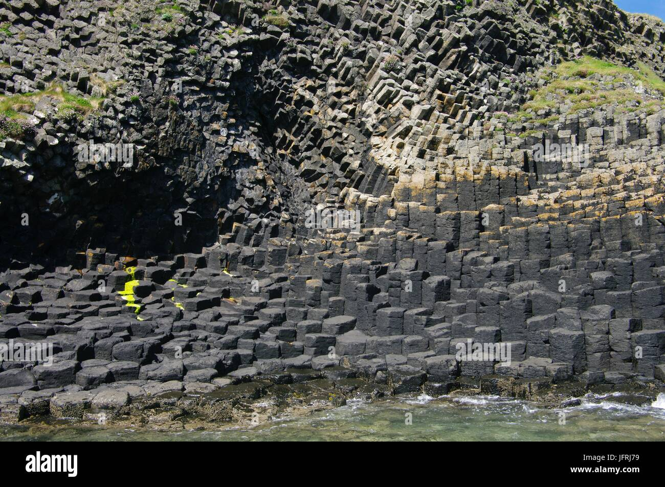 Isle of Staffa, Inner Hebrides, Scotland - Stock Image