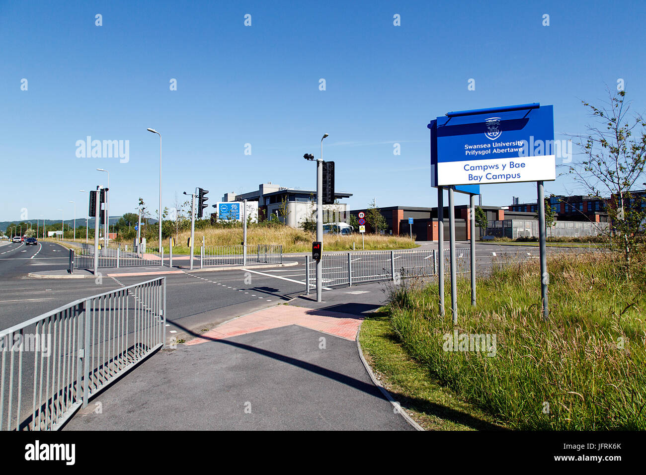 Swansea University Bay Campus - Stock Image