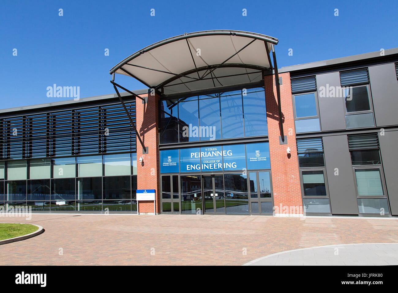 Swansea Bay Campus - Engineering Building - Stock Image