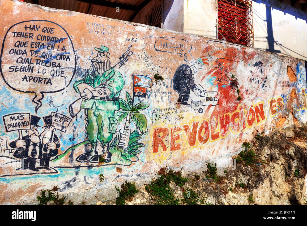 Cuban propaganda Cuban Graffiti Fidel Castro Graffiti Cuban revolution Cuban revolucion Cuba graffiti wall art Cuban Fidel Castro propaganda & Cuban propaganda Cuban Graffiti Fidel Castro Graffiti Cuban Stock ...