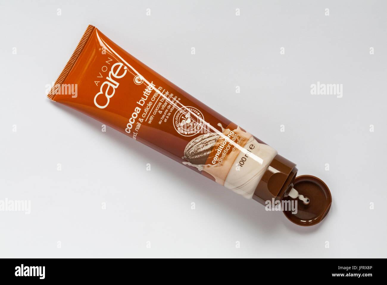 Avon Care cocoa butter hand nail & cuticle cream with cocoa butter ...