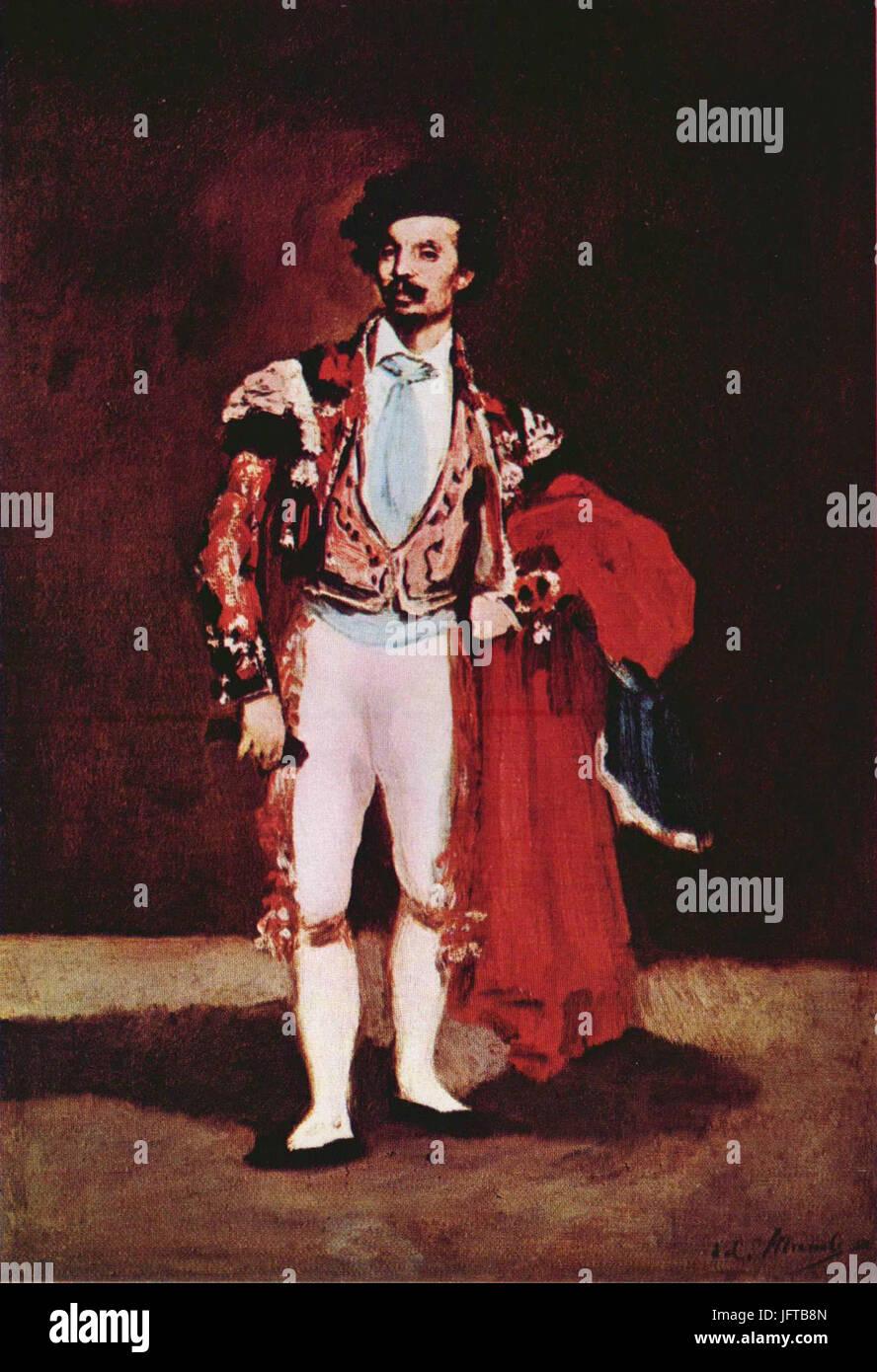 Édouard Manet - Ballerin, Mariano Camprubi (RW 54) - Stock Image