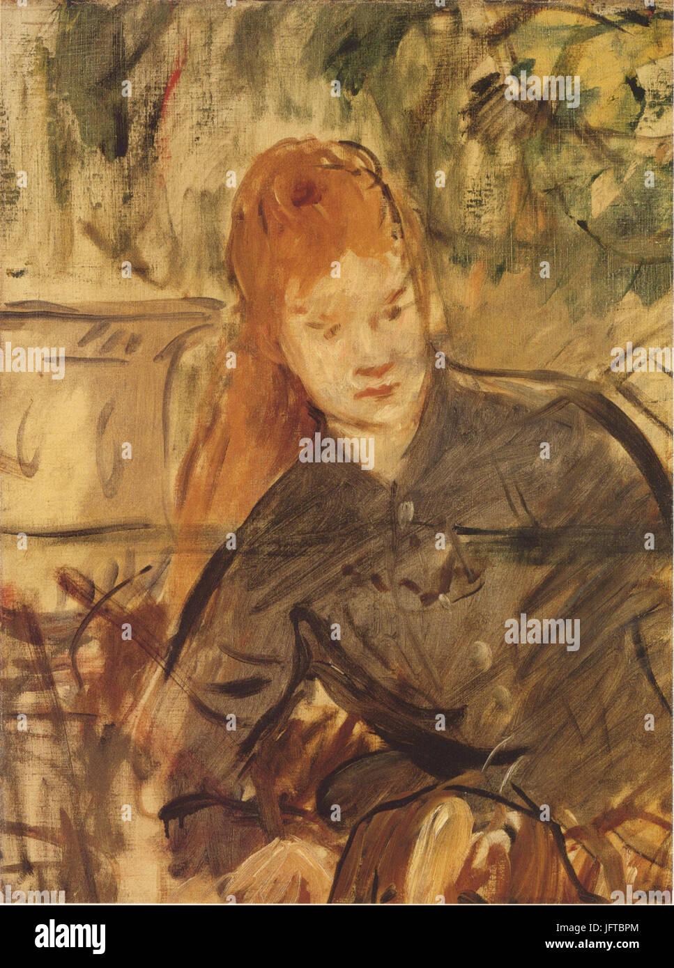 Édouard Manet - Femme à mi-corps (RW 340) - Stock Image