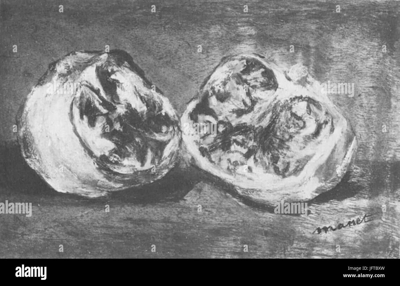 Édouard Manet - Grenade (RW 413) - Stock Image