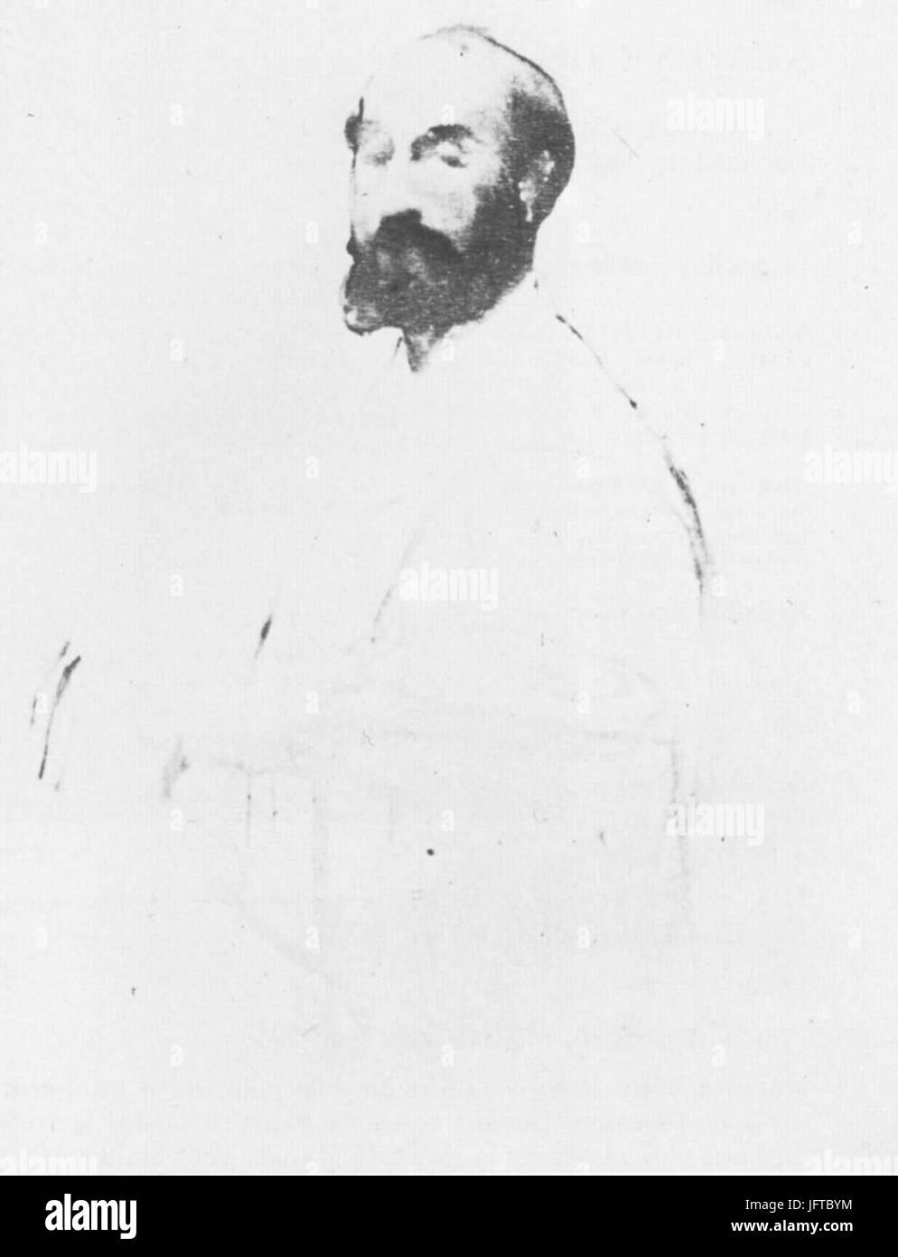 Édouard Manet - Jean-Baptiste Faure (RW 389) - Stock Image