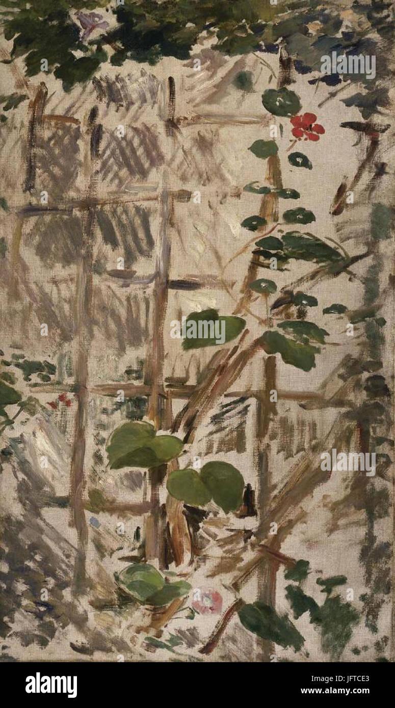 Édouard Manet - Liserons et Capucines (RW 378) - Stock Image