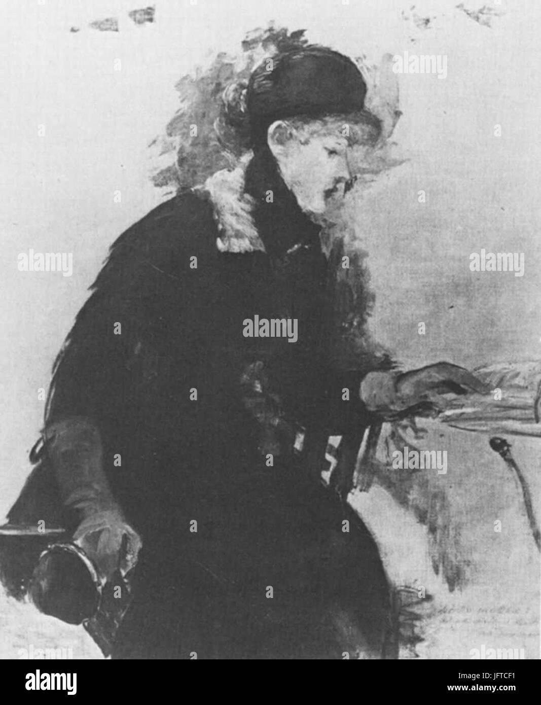 Édouard Manet - Liseuse (RW 398) - Stock Image