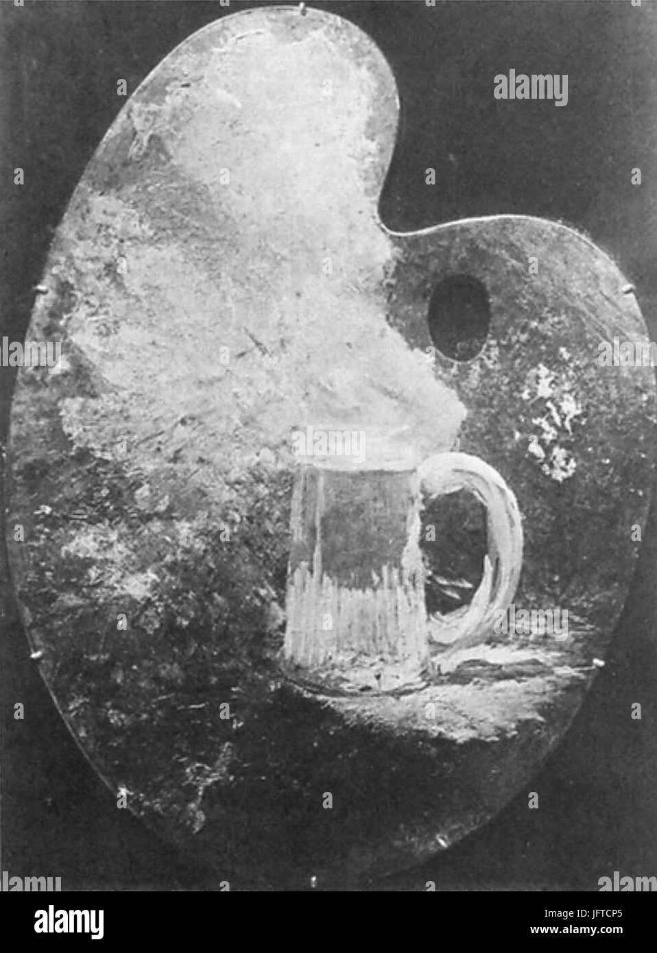 Édouard Manet - Palette au bock (RW 187) - Stock Image