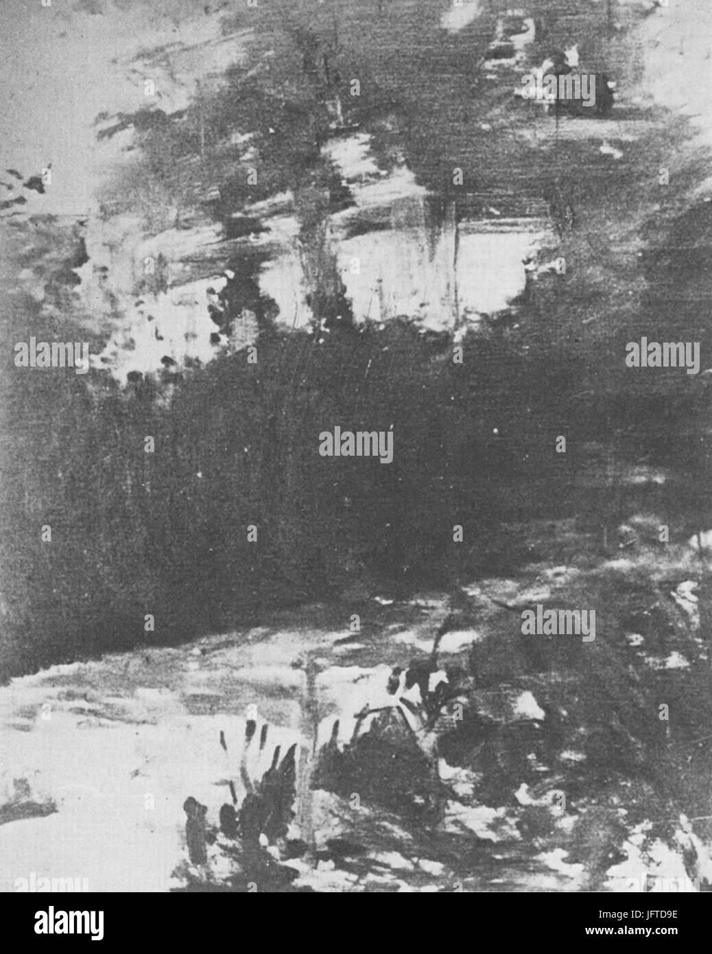 Édouard Manet - Une allée de jardin de Rueil (RW 404) - Stock Image