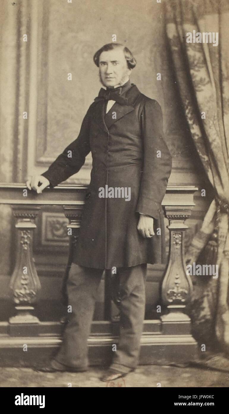 Album des députés au Corps législatif entre 1852-1857-Quesné - Stock Image
