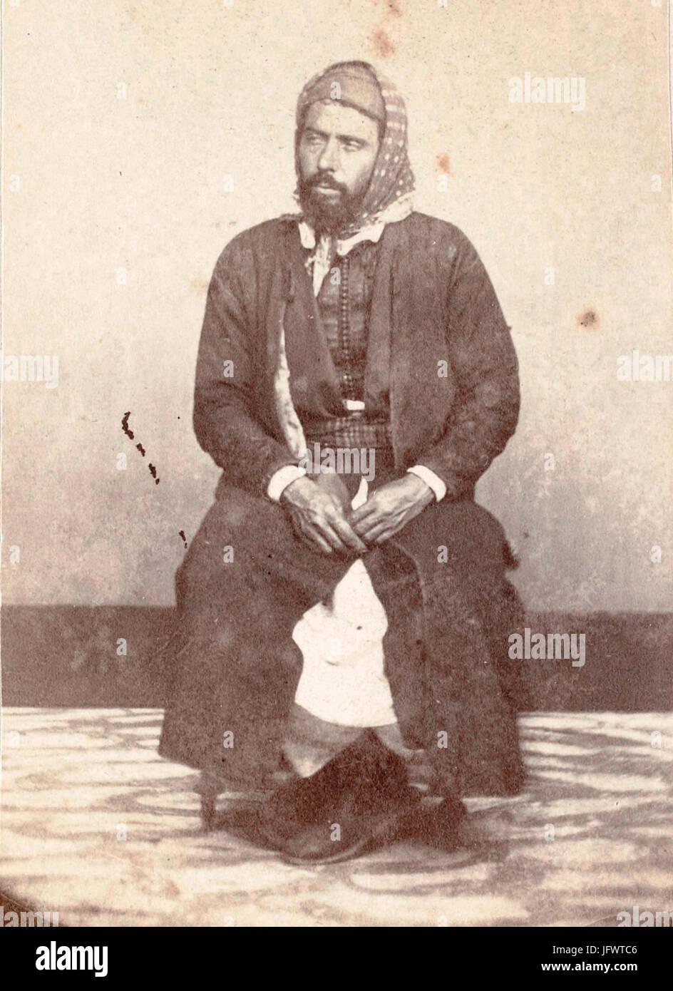 Charles Hecquard. Rabbin Mardochée à Mogador. 1860s Stock Photo