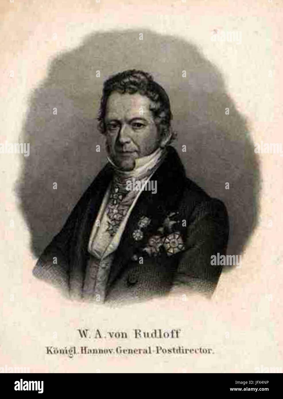 Ausschnitt aus einem Seitenausriss im Bildarchiv Austria, Österreichische Nationalbibliothek, Wilhelm August von Stock Photo
