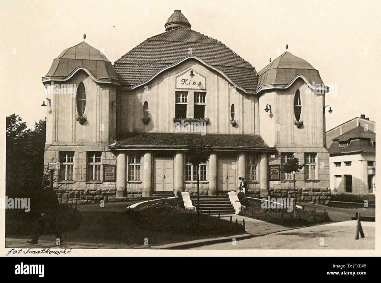 Bielsko-Biała, Kino Wanda - Stock Image