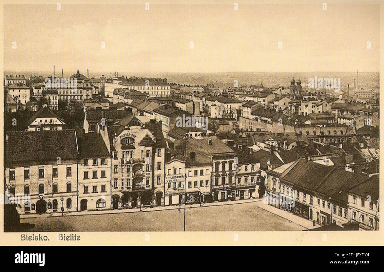 Bielsko-Biała 1920 - Stock Image