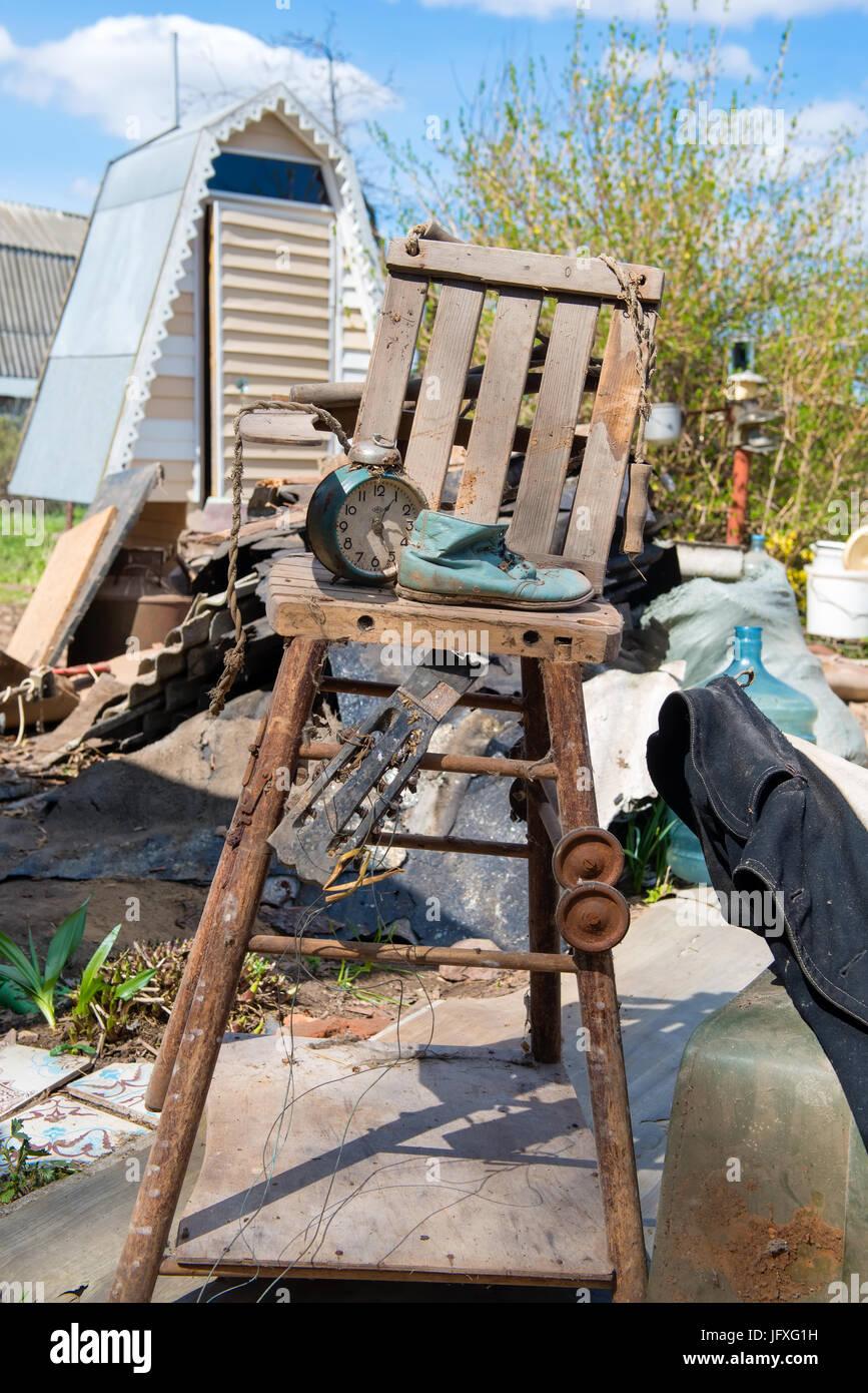 Chair Jumble Stock Photos Amp Chair Jumble Stock Images Alamy