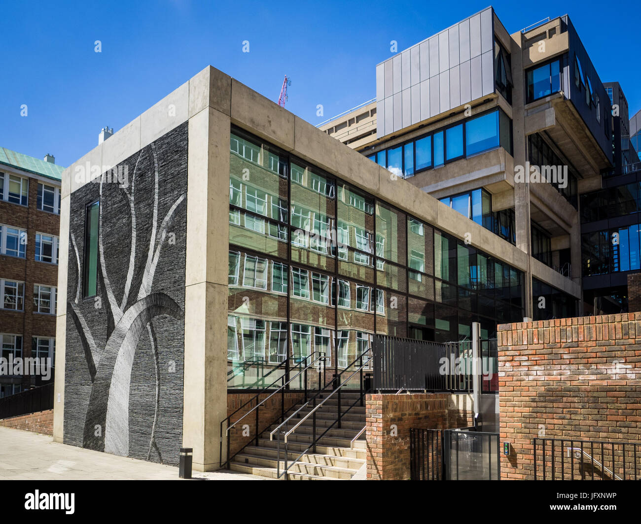 Cambridge Museum of Zoology, the David Attenborough building redevelopment in central Cambridge, UK - Stock Image