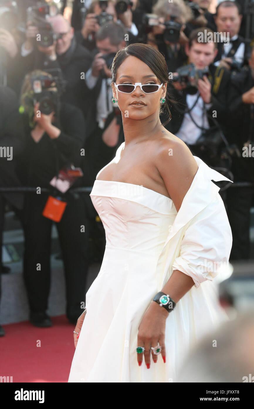 4cc67e8e6a Rihanna attends the Okja screening during the 70th annual Cannes Film  Festival at Palais des Festivals