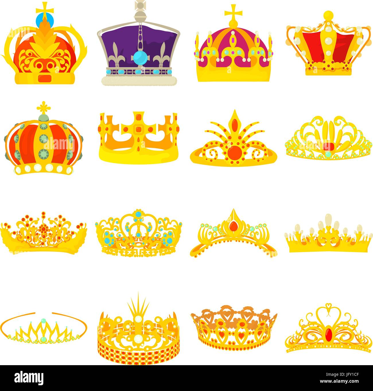 Cartoon Royal Crown High Resolution Stock Photography And Images Alamy Your cartoon crown stock images are ready. https www alamy com stock photo crown royal icons set cartoon style 147496623 html
