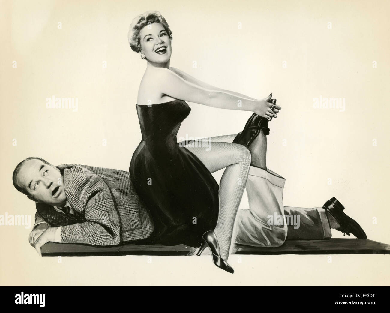 Broderick Crawford and Claire Trevor in the movie Stop, You are Killing Me, USA - Stock Image