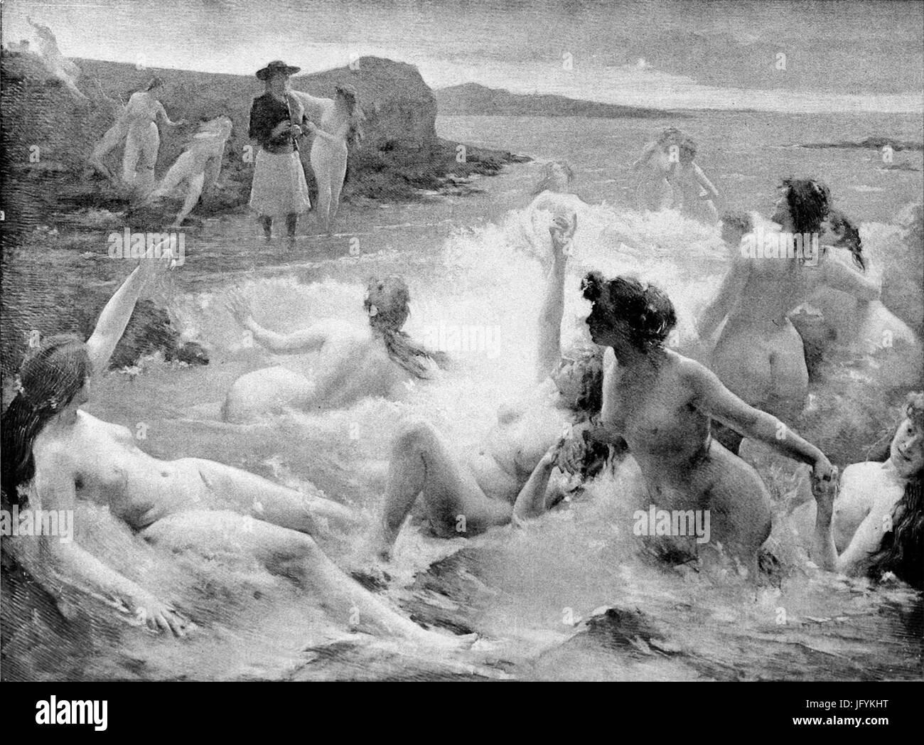Fernand Le Quesne - La Légende du Kerdeck - Stock Image