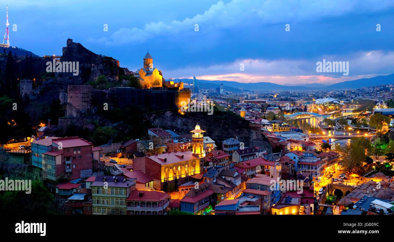 View of Tbilisi, Georgia - Stock Image