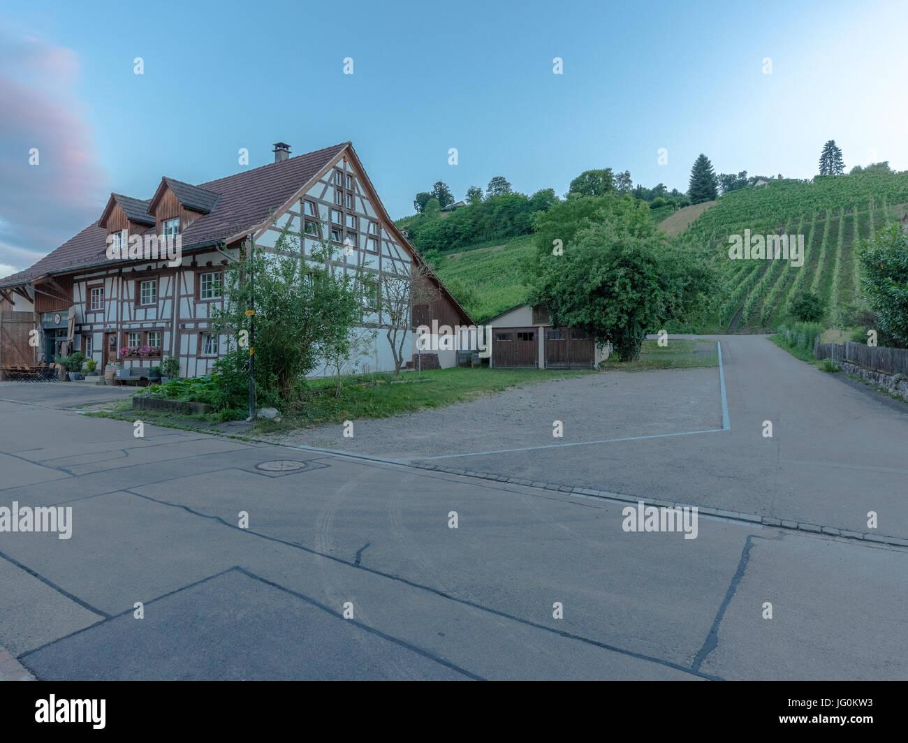 Village photos of Rüdlingen Stock Photo