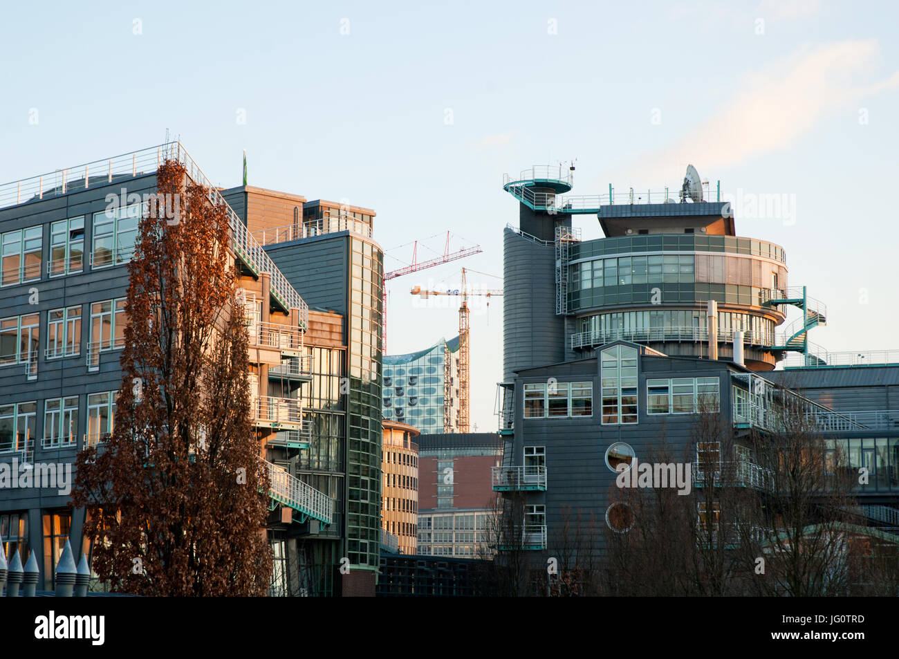 Gruner und Jahr Verlagshaus - Stock Image