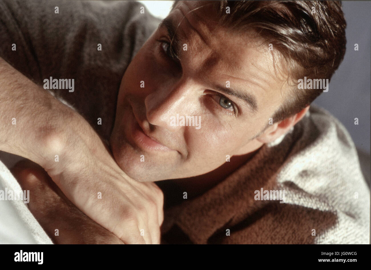 Attractive smiling man - Stock Image
