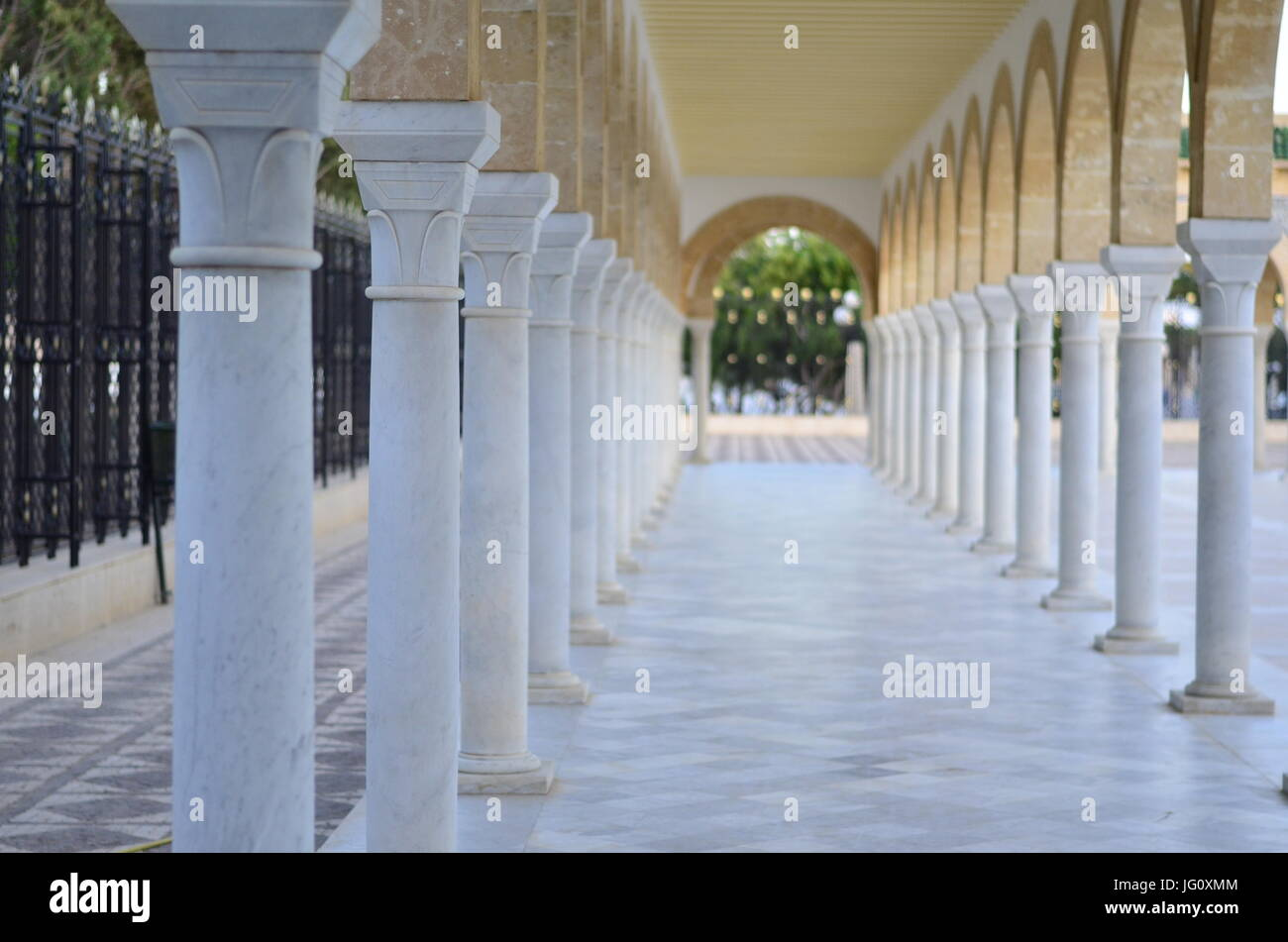 Amazing architecture and alley - Stock Image