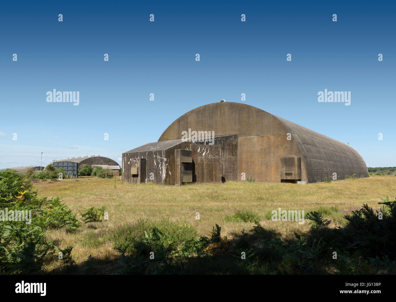 Woodbridge Airfield,Suffolk,England - Stock Image