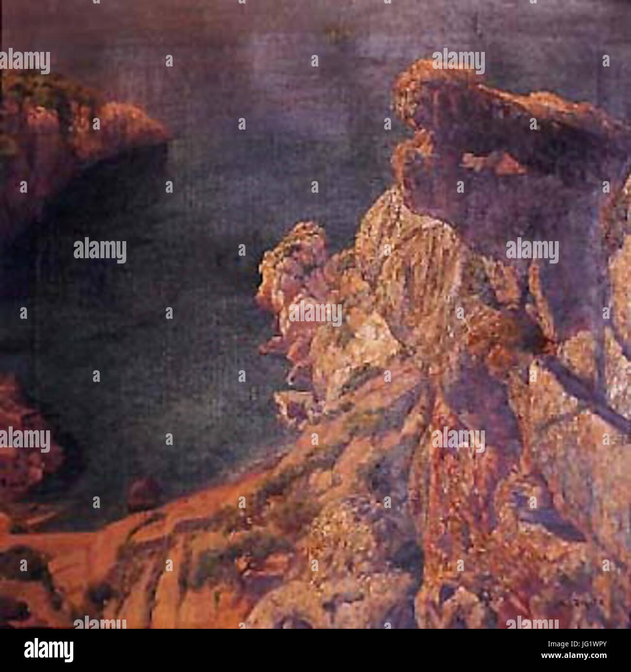 DEIơ380 - ALEXANDRE DE RIQUER I YNGLADA - Stock Image