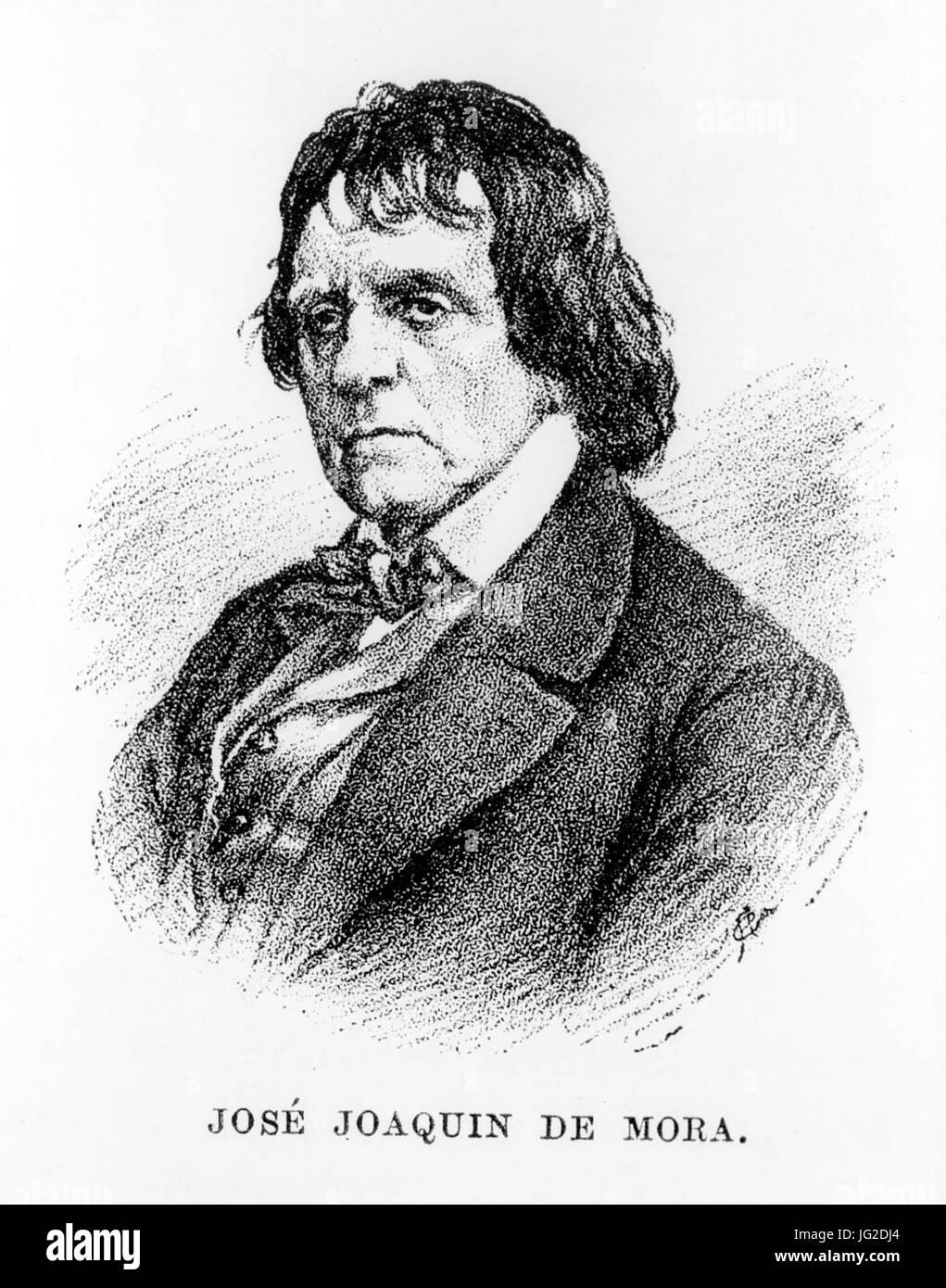 José Joaquín de Mora (1783 - 1864) Stock Photo