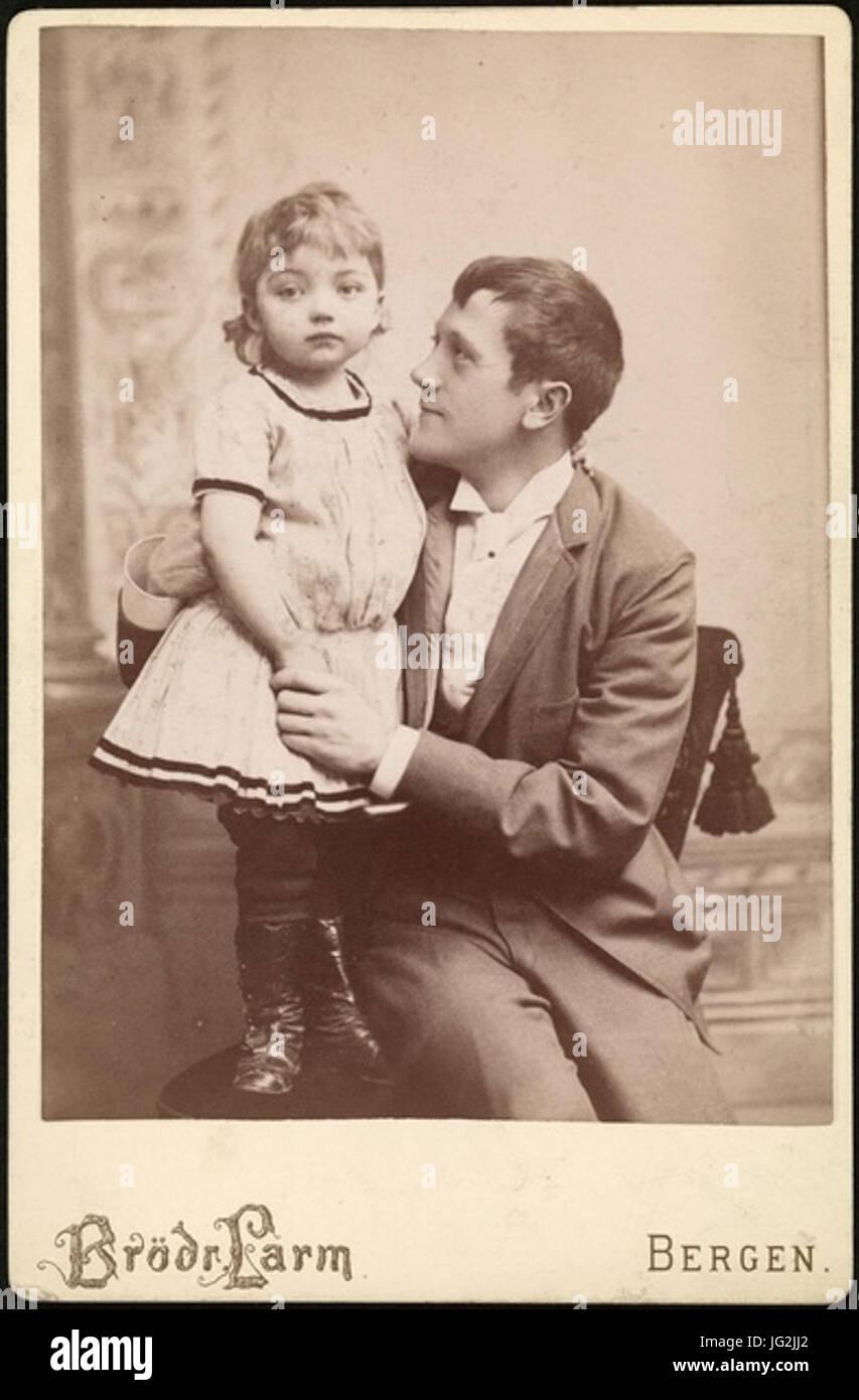 Kalle Løchen 1890 - Stock Image