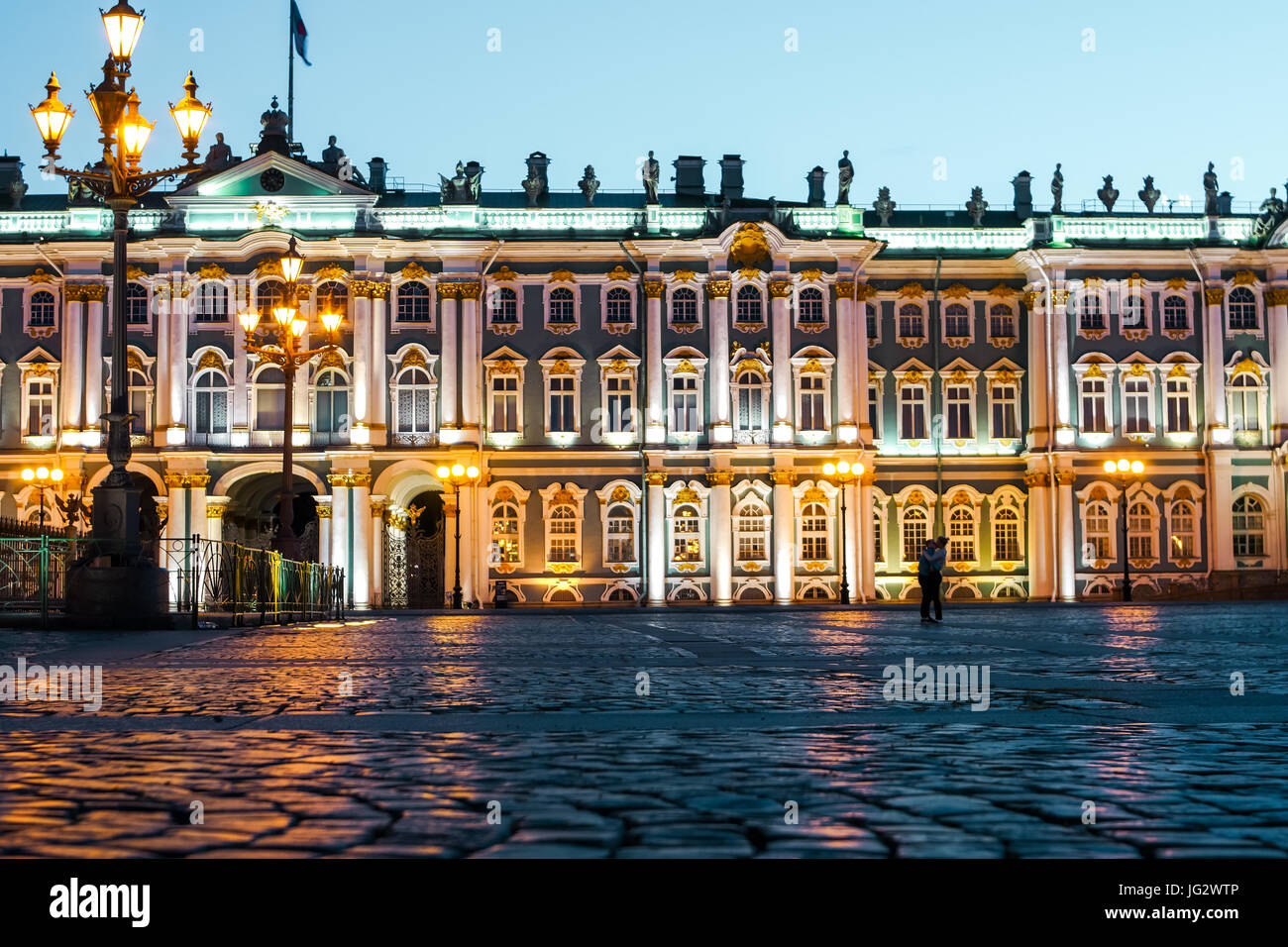St. Petersburg's Winter Palace Stock Photo