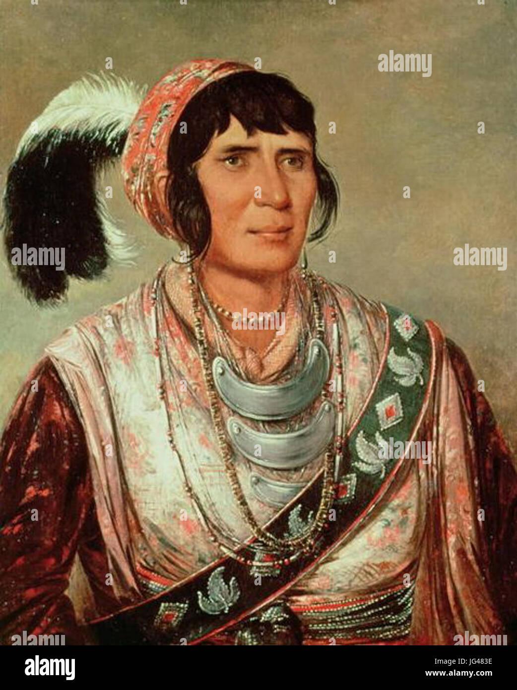 Osceola George Catlin 1838 - Stock Image