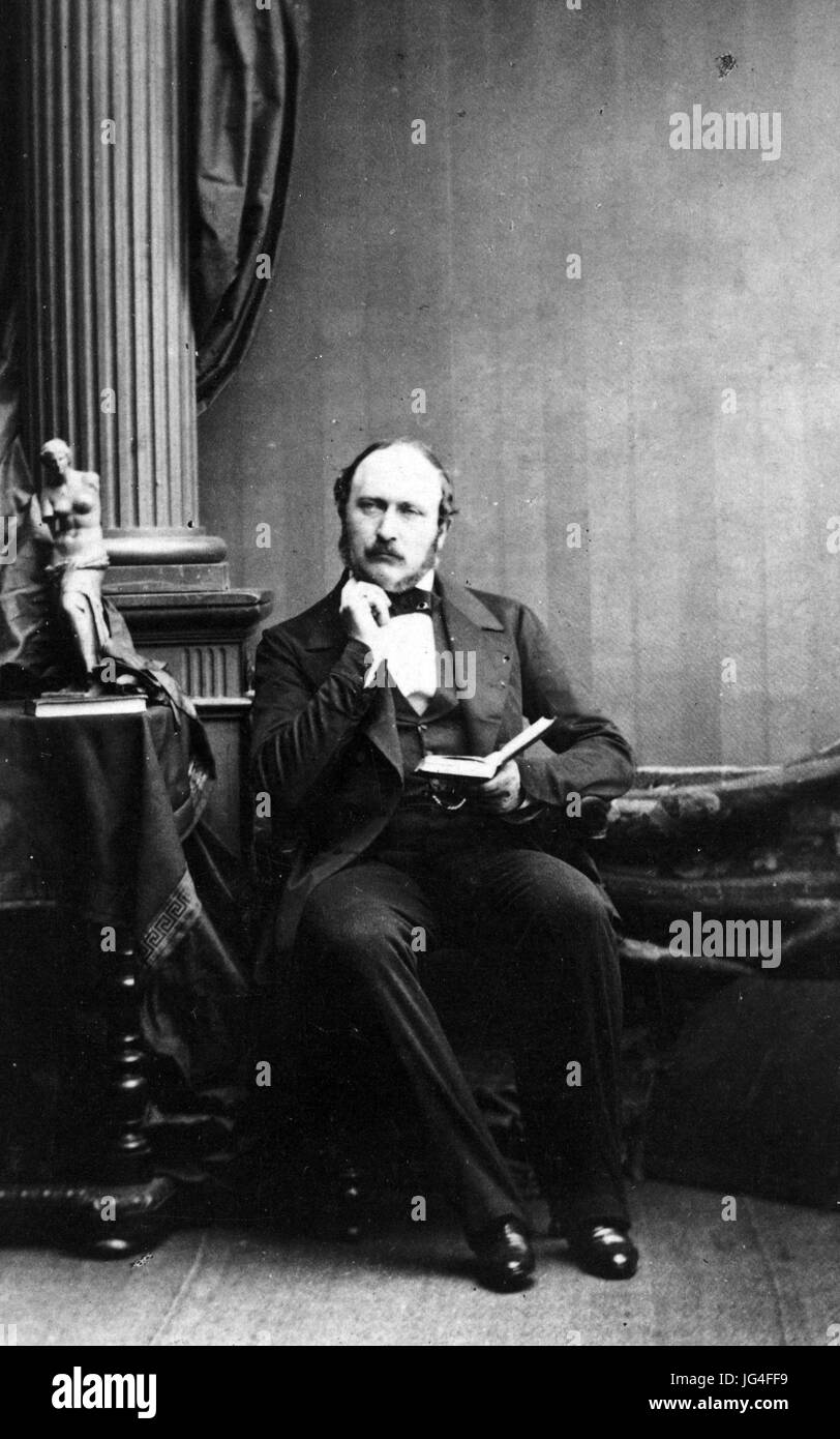 PRINCE ALBERT, of Saxe-Coburg and Gotha, husband of Queen Victoria - Stock Image