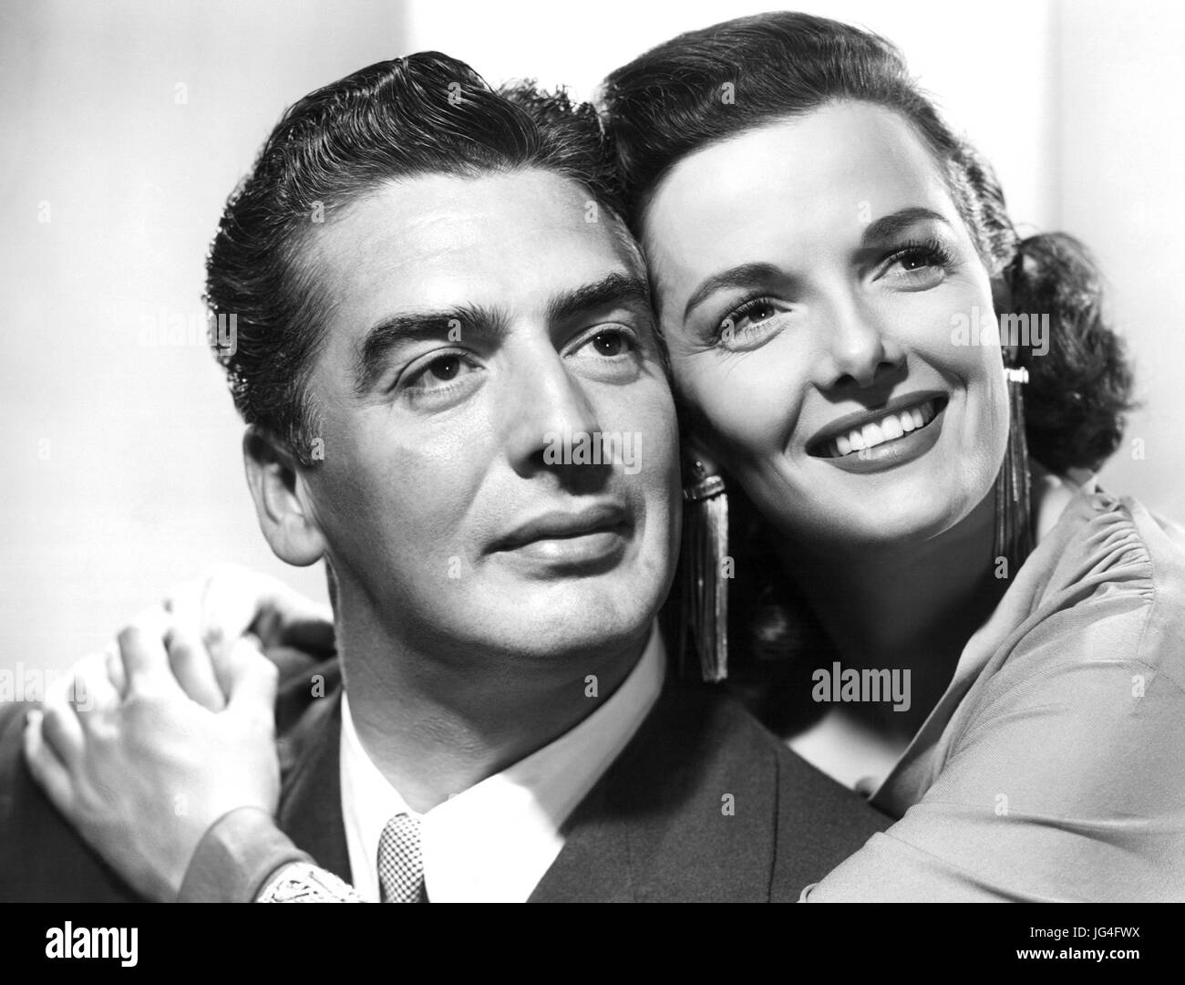 THE LAS VEGAS STORY 1952 RKO Pictures film with Jane Russell and Victor Mature - Stock Image