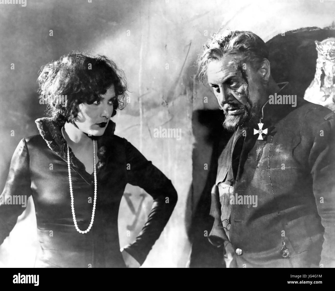 THE LAST COMMAND 1928 Paramount Pictures film with Emil Jannings and Evelyn Brent - Stock Image