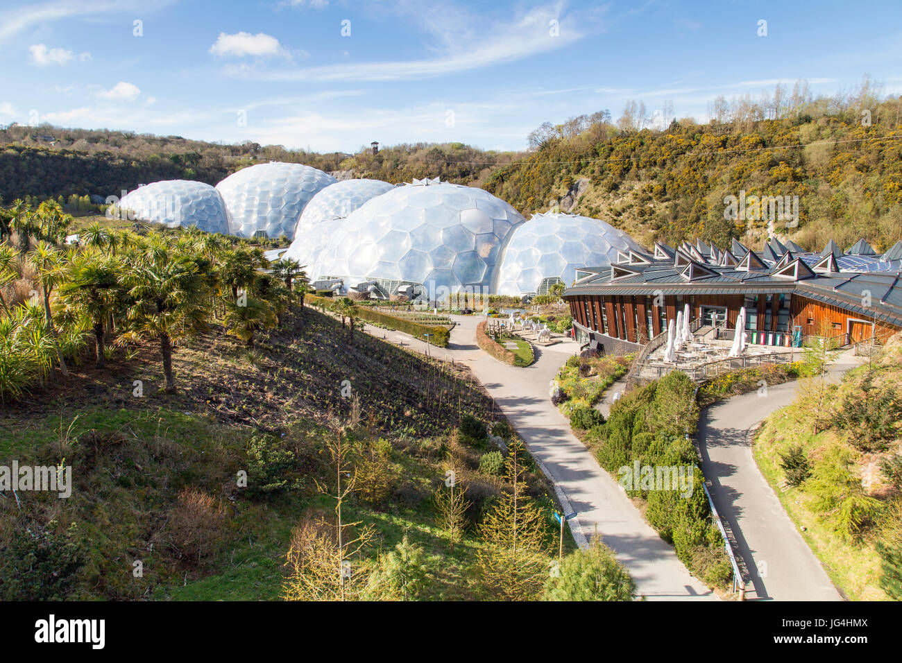 Eden Project - Cornwall - Stock Image