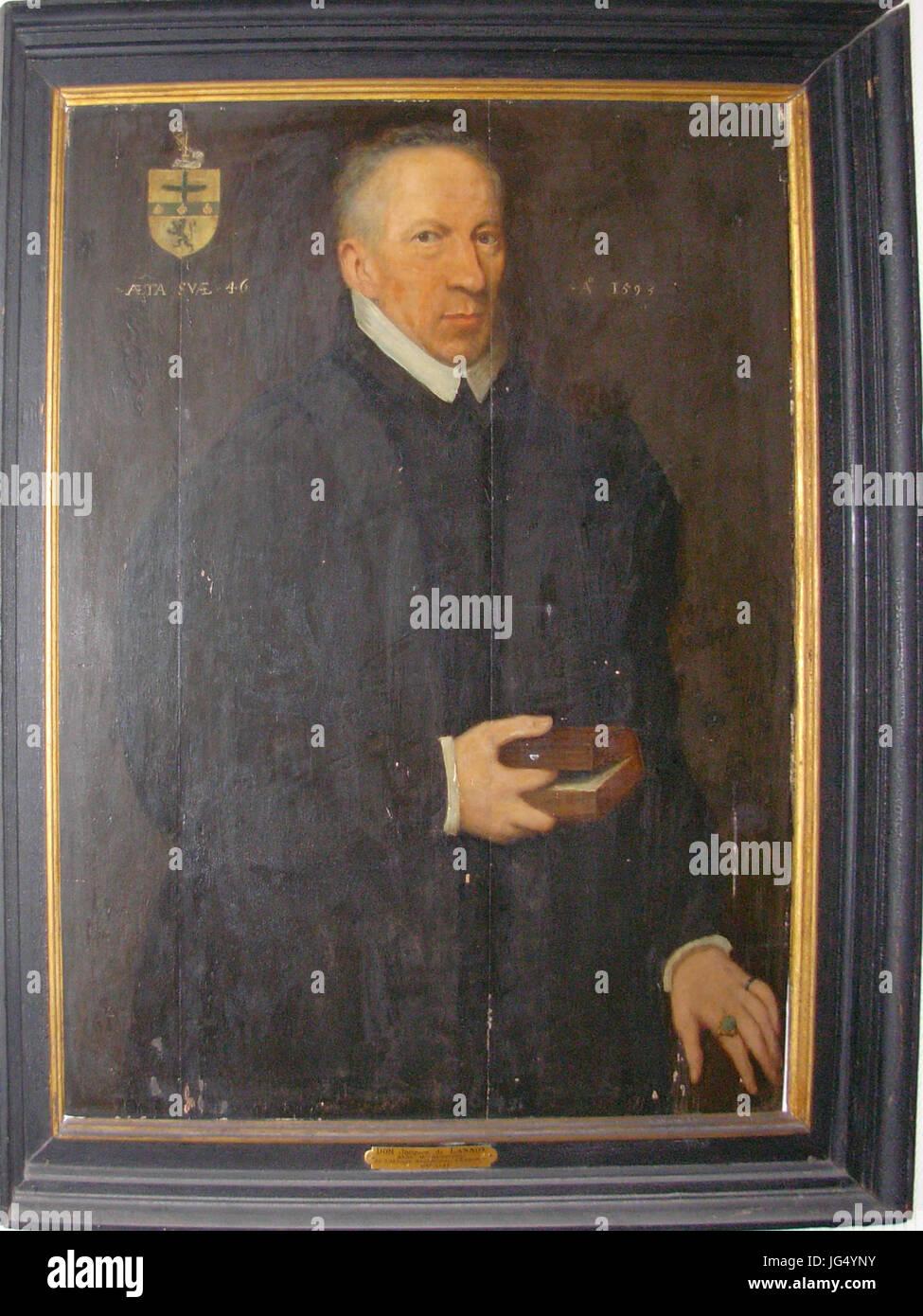 Portrait de Dom Jacques de Lannoy (1547-1593) Stock Photo