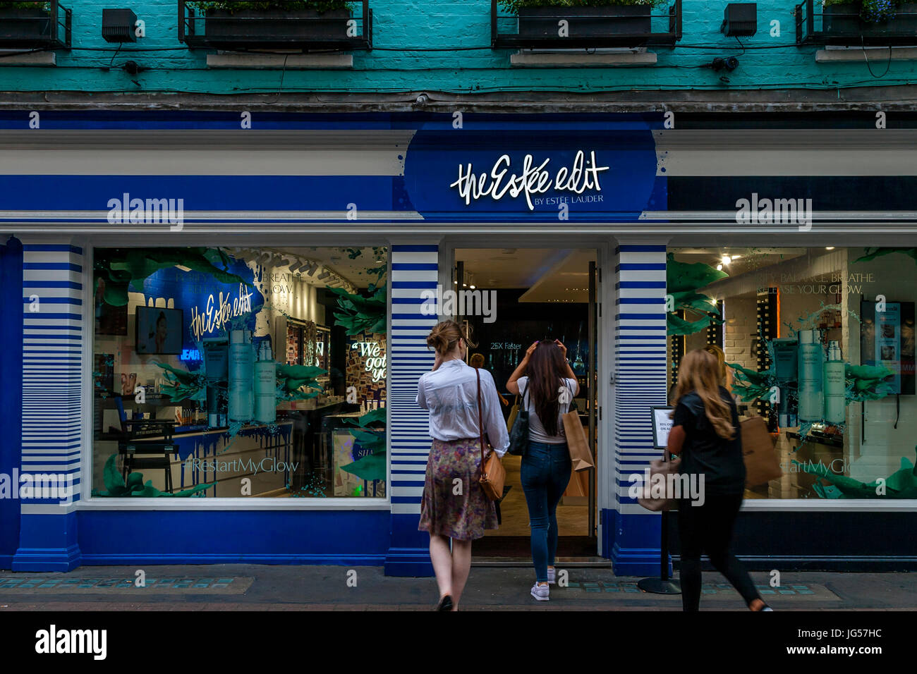 The Estee Edit Store, Carnaby Street, London, UK - Stock Image