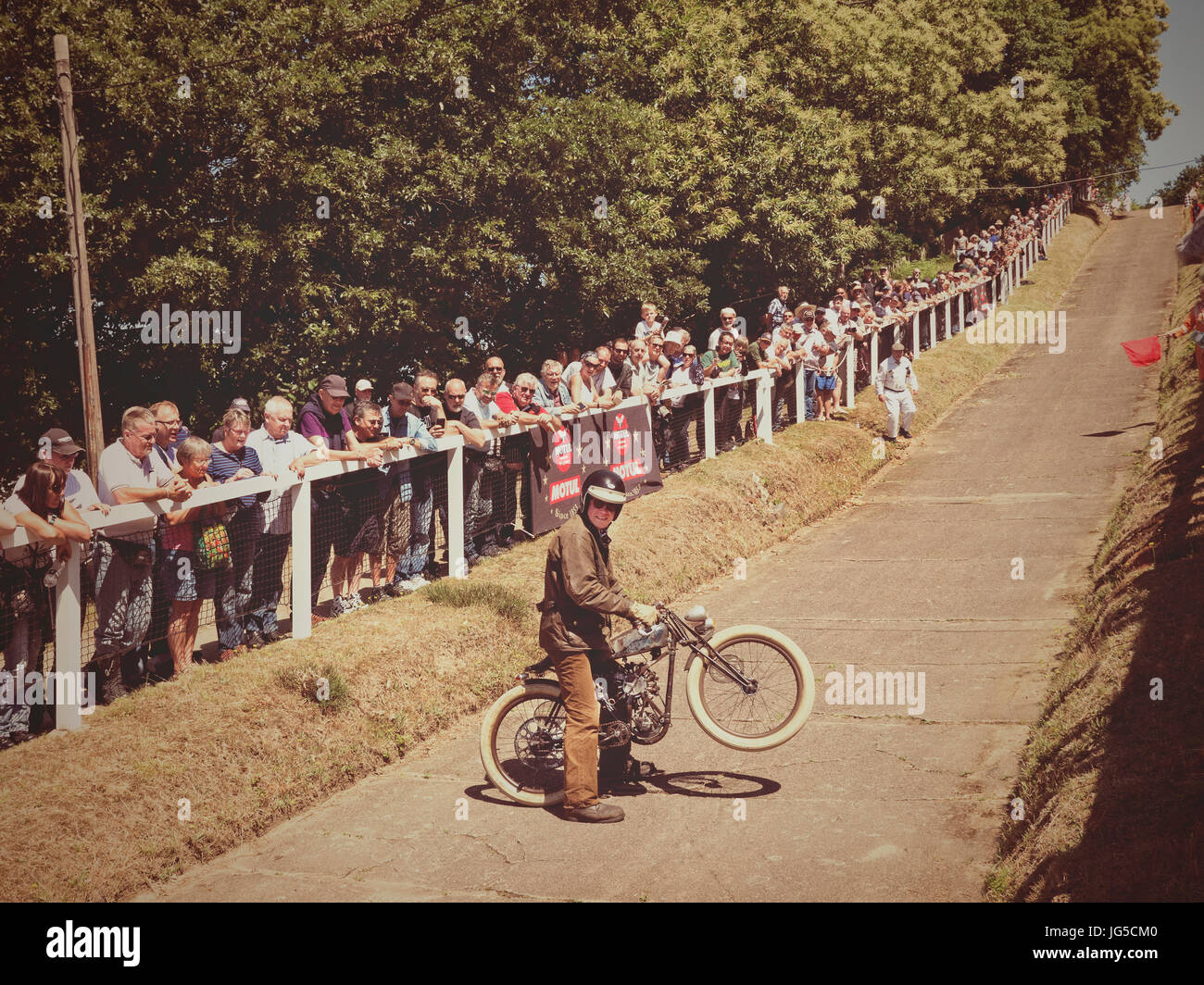 Brooklands Motorcycle day 2/7/2017 Stock Photo