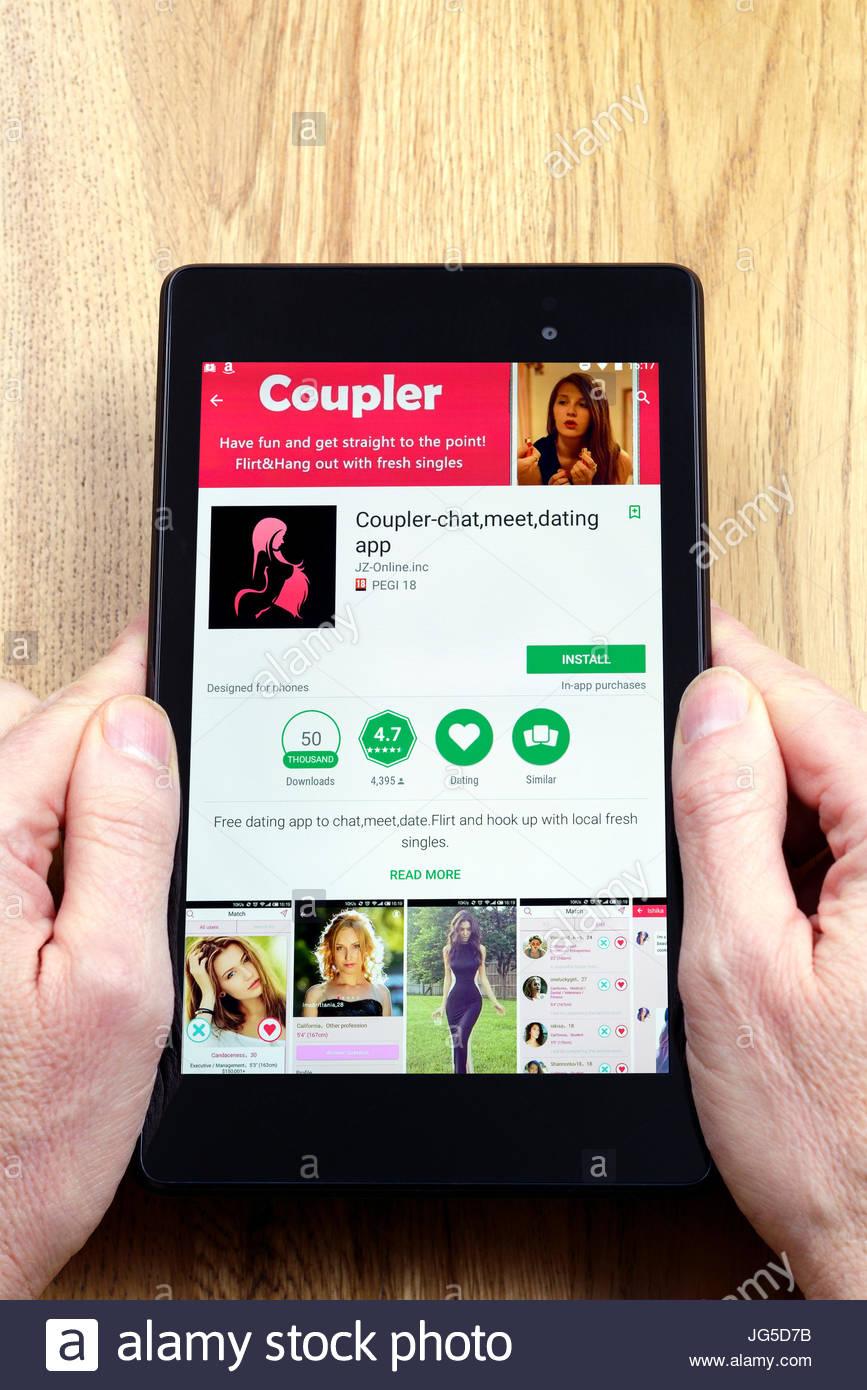 hook up smartphone apps