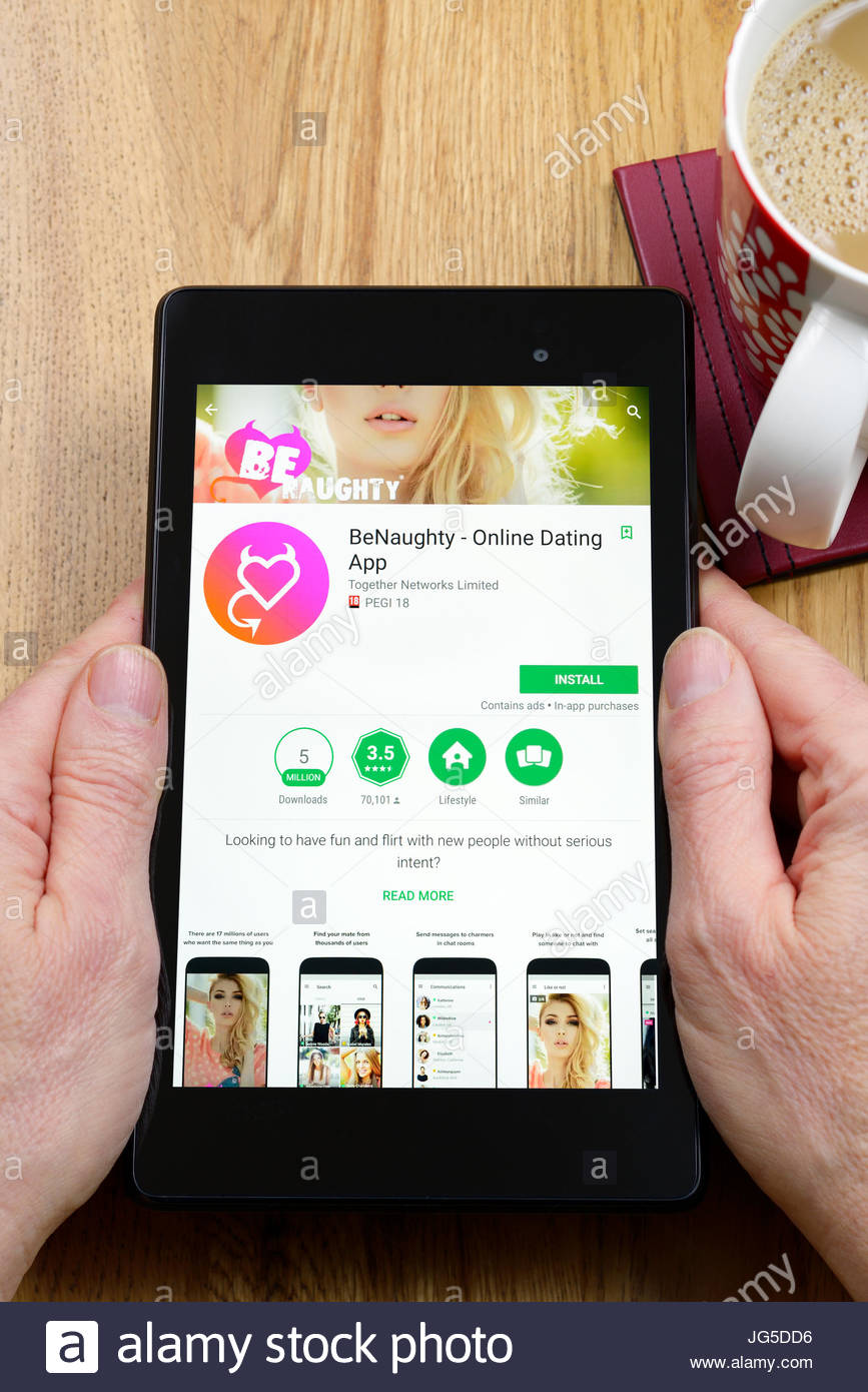 benaughty android app